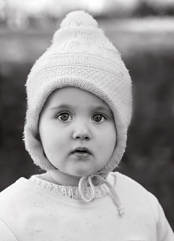children portrait, a black and white portraitcaptured by Tauranga children and family photographer Susanna